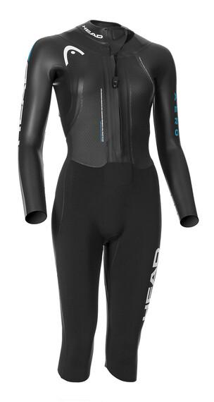 Head Swimrun Aero Neoprene Suit Women Turquoise-Silver
